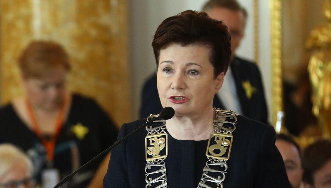 Prezydent Warszawy Hanna Gronkiewicz-Waltz (fot. PAP/Rafał Guz)