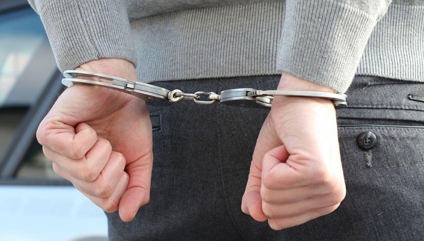 Mężczyzna został zatrzymany i usłyszał zarzuty (fot. Pixabay)