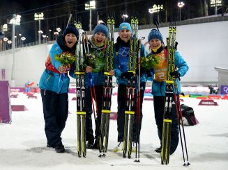 Ukraińska sztafeta ze złotem olimpijskim