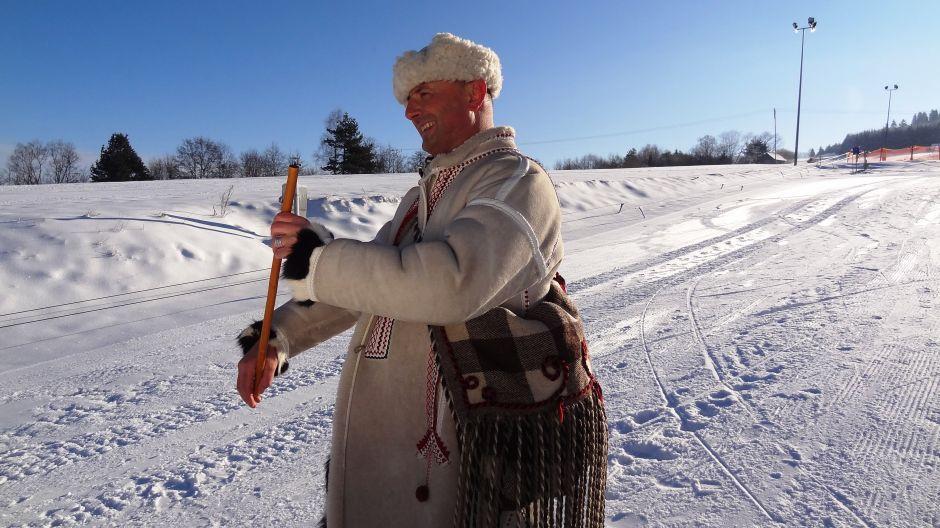 Bartek Koszarek-Benkowy prowadzący Ślizg (fot. mmas)