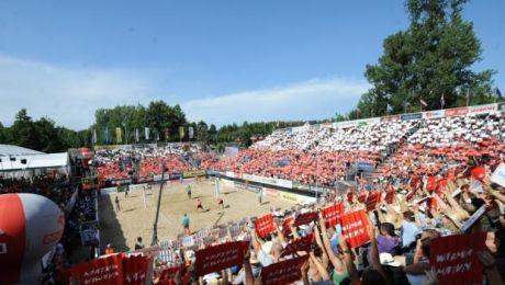 Turniej w siatkówce plażowej z cyklu World Tour odbędzie się w Olsztynie.