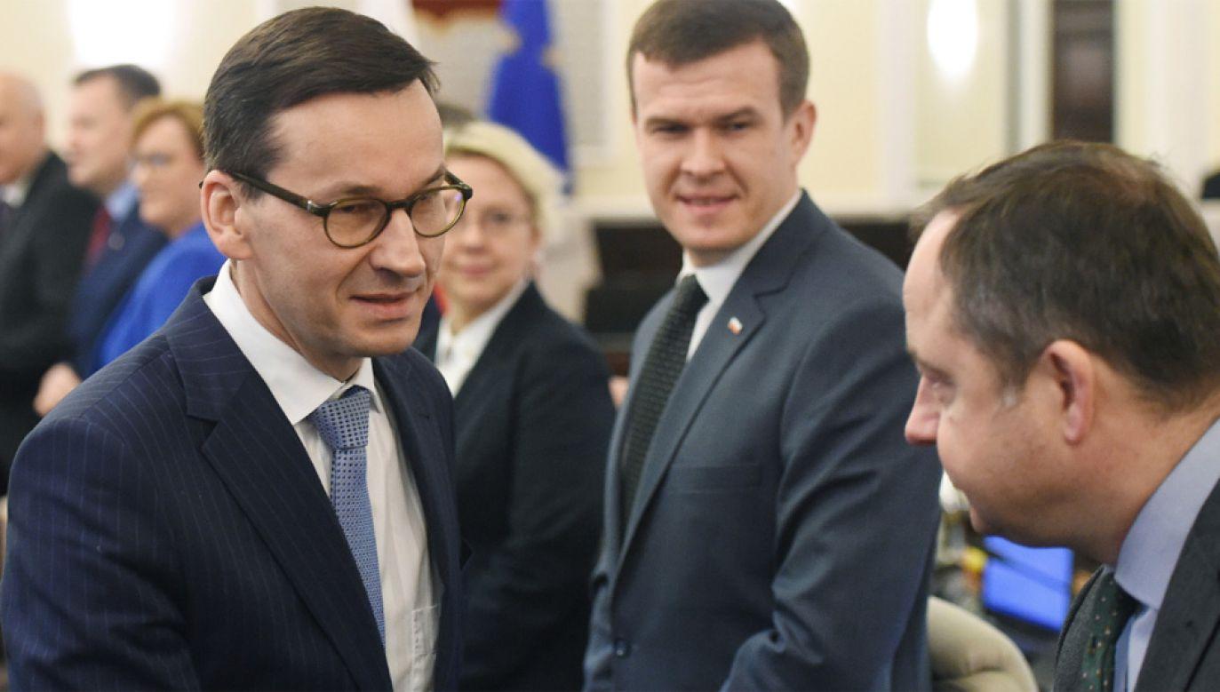 Premier Mateusz Morawiecki ma wkrótce polecieć do USA (fot. PAP/Radek Pietruszka)