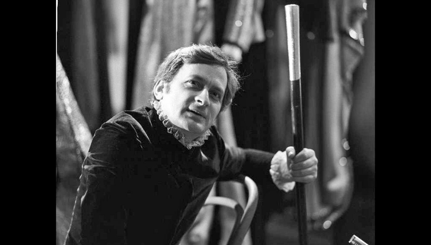 """Antoni Pszoniak, """"Magiczna wyspa Prospera"""", 1974 r., reż Zdzislaw Wardejn (fot. TVP)"""