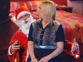 Świąteczny flirt z Mikołajem