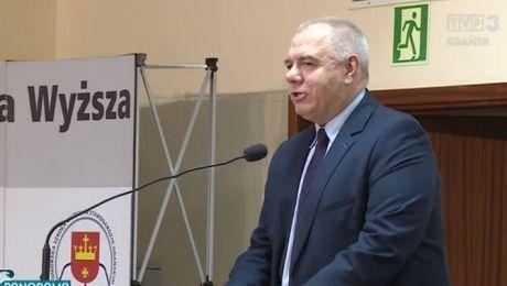 Minister Jacek Sasin w Starogardzie Gdańskim