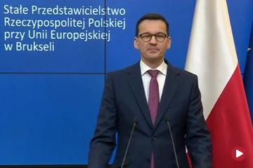 Premier Polski na Unijnym szczycie