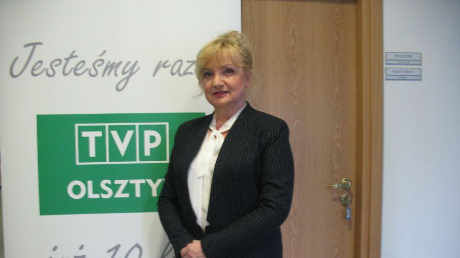 Jolanta Marozas, dyrektor W-M Oddziału ARiMR w Olsztynie.