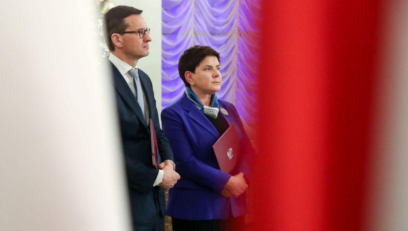 Według eksperta przyczyną zmiany na fotelu premiera mogły być napięcia w rządzie (fot. Grzegorz Jakubowski/KPRP)