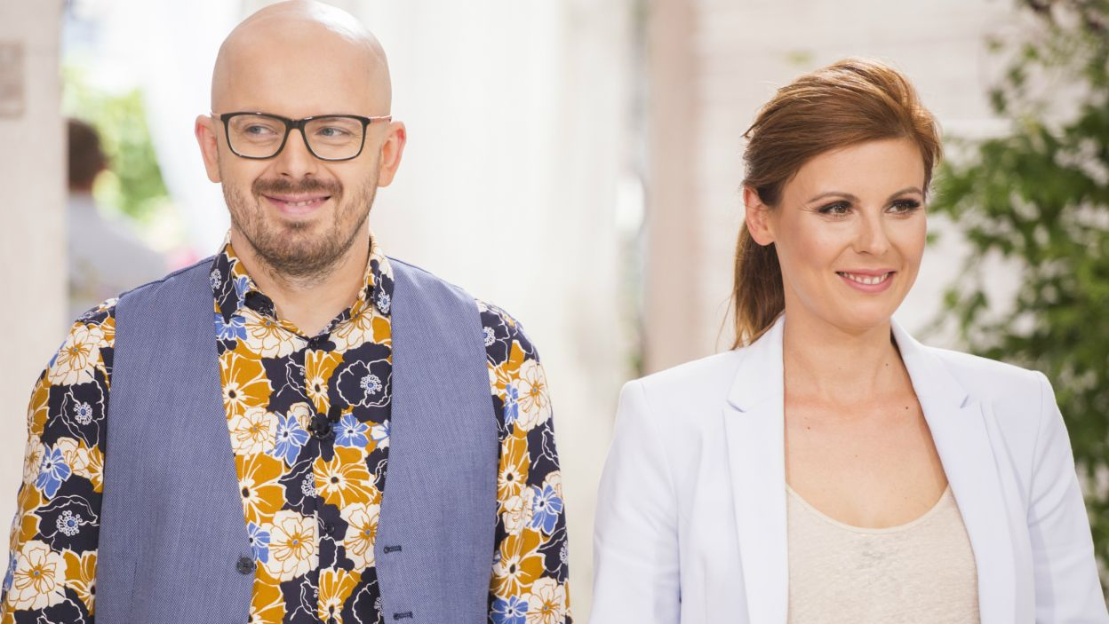 Ich kulinarne popisy oceniać będą Gosia Molska i Krzysztof Ilnicki (fot. TVP)
