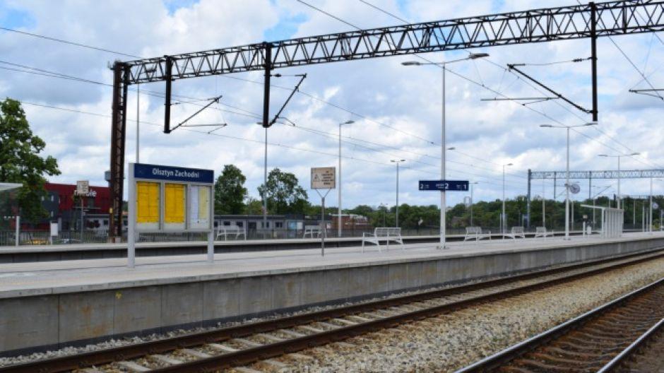 Dworzec Olsztyn Zachodni po modernizacji