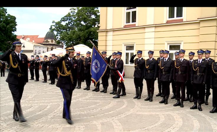 Jubileusz Zawodowej Straży Pożarnej w Przemyślu.
