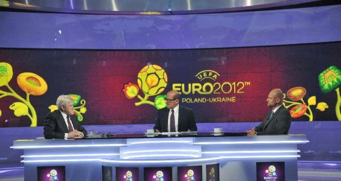Studio Telewizji Polskiej w czasie Euro 2012 (fot. TVP/Ireneusz Sobieszczuk)
