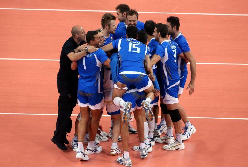 Czy po półfinale z Brazylią radość Włochów będzie równie wielka? (fot.PAP/EPA)