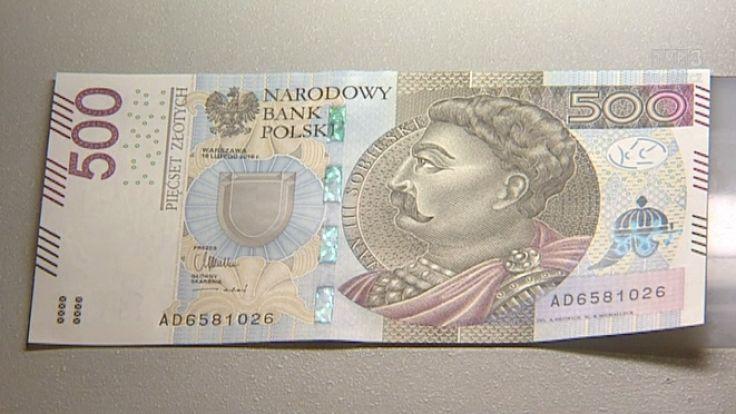Na awersie 500 zł widnieje król Jan II Sobieski