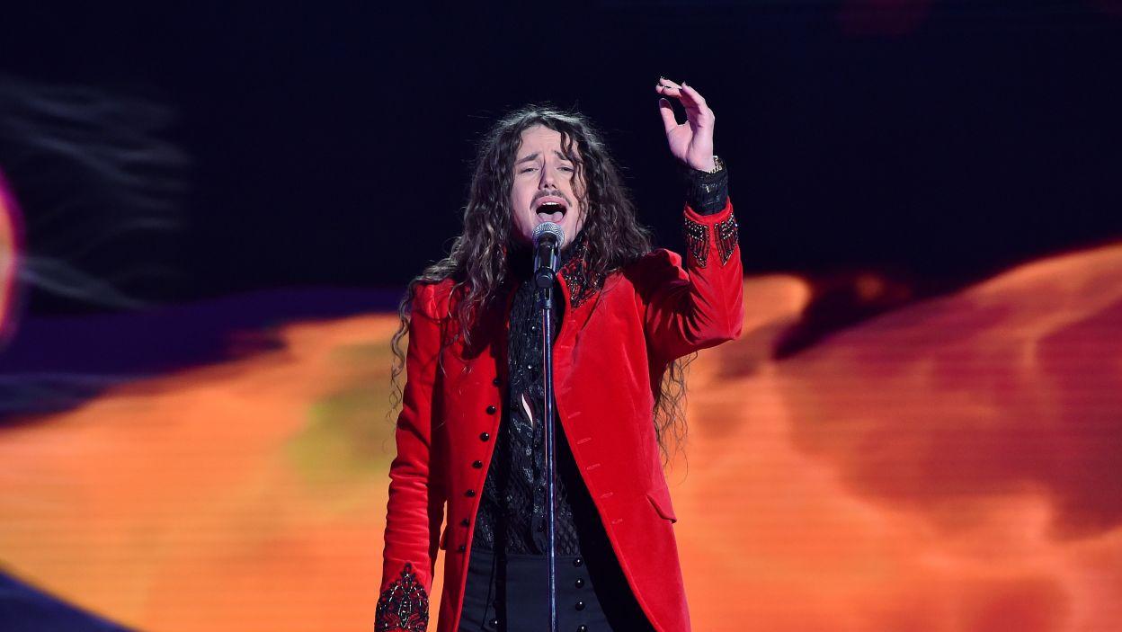 """Utwór """"Color Of Your Life"""" przyniósł Michałowi Szpakowi zwycięstwo w krajowych eliminacjach (fot. I. Sobieszczuk/ TVP)"""
