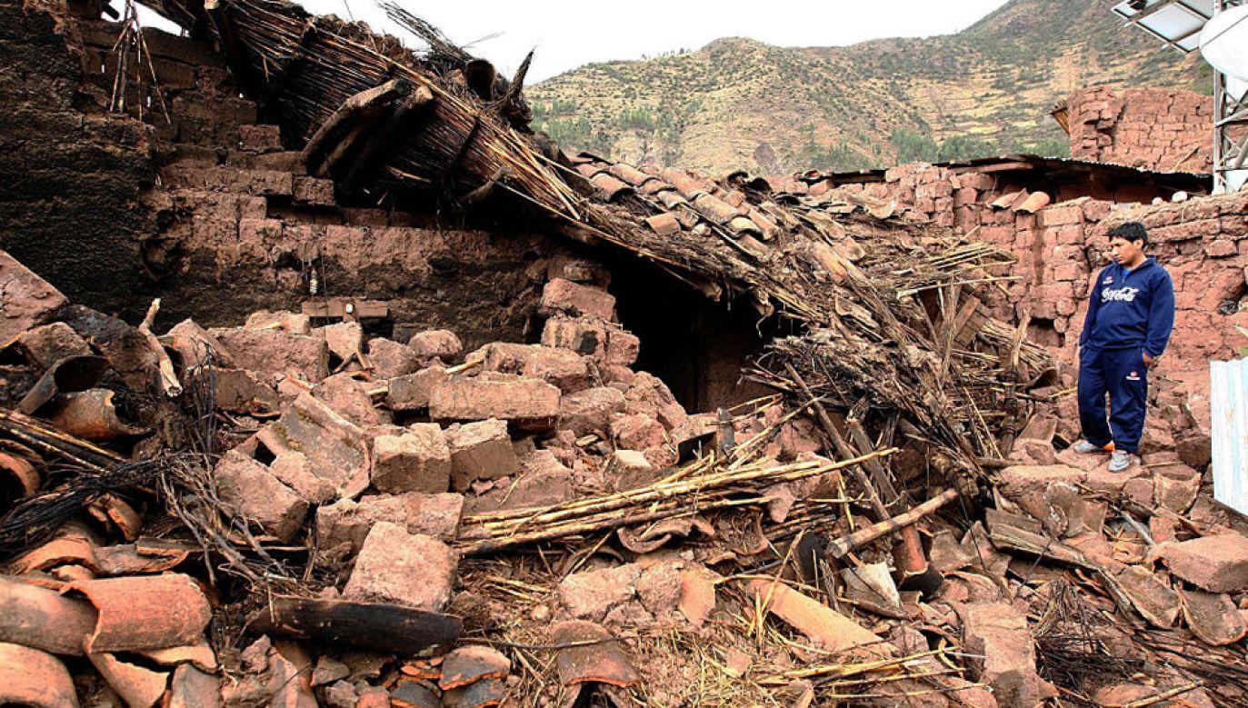 W Peru regularnie dochodzi do trzęsień ziemi (fot. Peru Presidency Handout Editorial Use Only/Anadolu Agency/Getty Images)