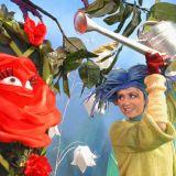 Pani Róża jest piękna i mądra. Dba o przestrzeganie zasad dobrego wychowania. Potrzebuje podlewania. Przemawia do Was głosem Beaty Waszczuk  (fot. J. Bogacz/TVP)