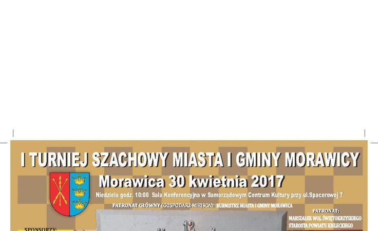 I Turniej Szachowy Miasta Morawicy