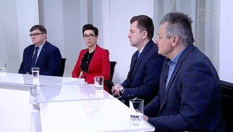 18.02.2018, Jerzy Materna PiS, Katarzyna Osos PO, Artur Zasada Porozumienie, Czesław Fiedorowicz PSL