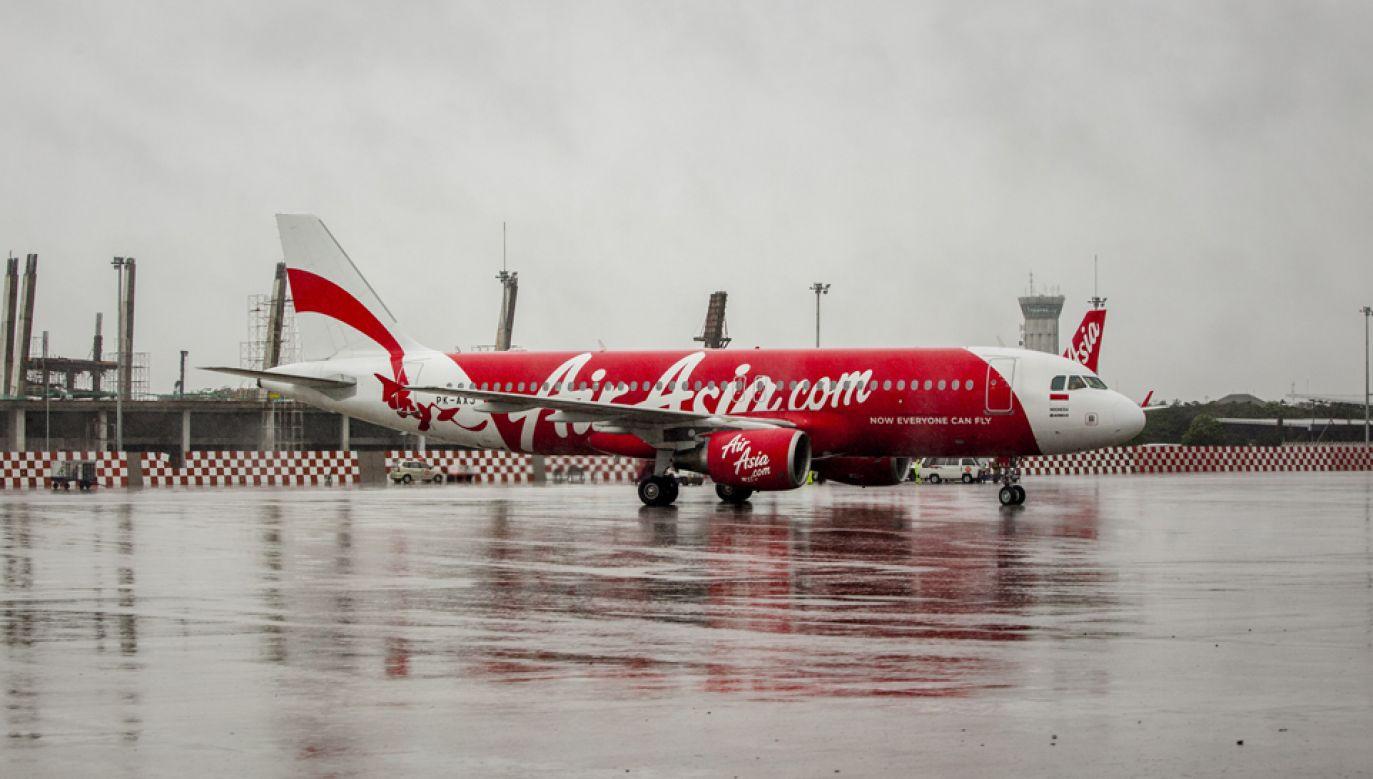 Samolot linii AirAsia (fot. Oscar Siagian/Getty Images)