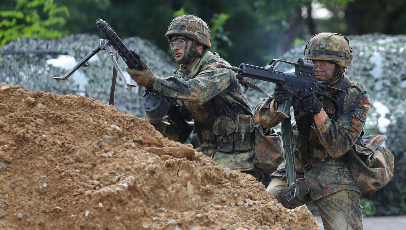 Wzrosła liczba przestępstw na tle seksualnym w niemieckim wojsku (fot. REUTERS/Kai Pfaffenbach)