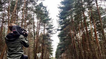 Zaginiona mogła zabłądzić w lesie...
