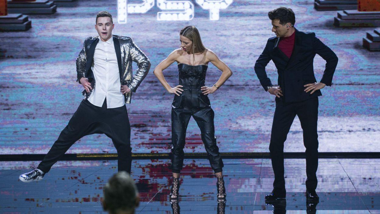 Tańca w stylu Gangnam Style Adam mógł po swoim występie niemal nauczać (fot. N. Młudzik/TVP)