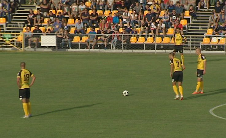 Piłkarze tarnobrzeskiej Siarki zwyciężyli w Elblągu