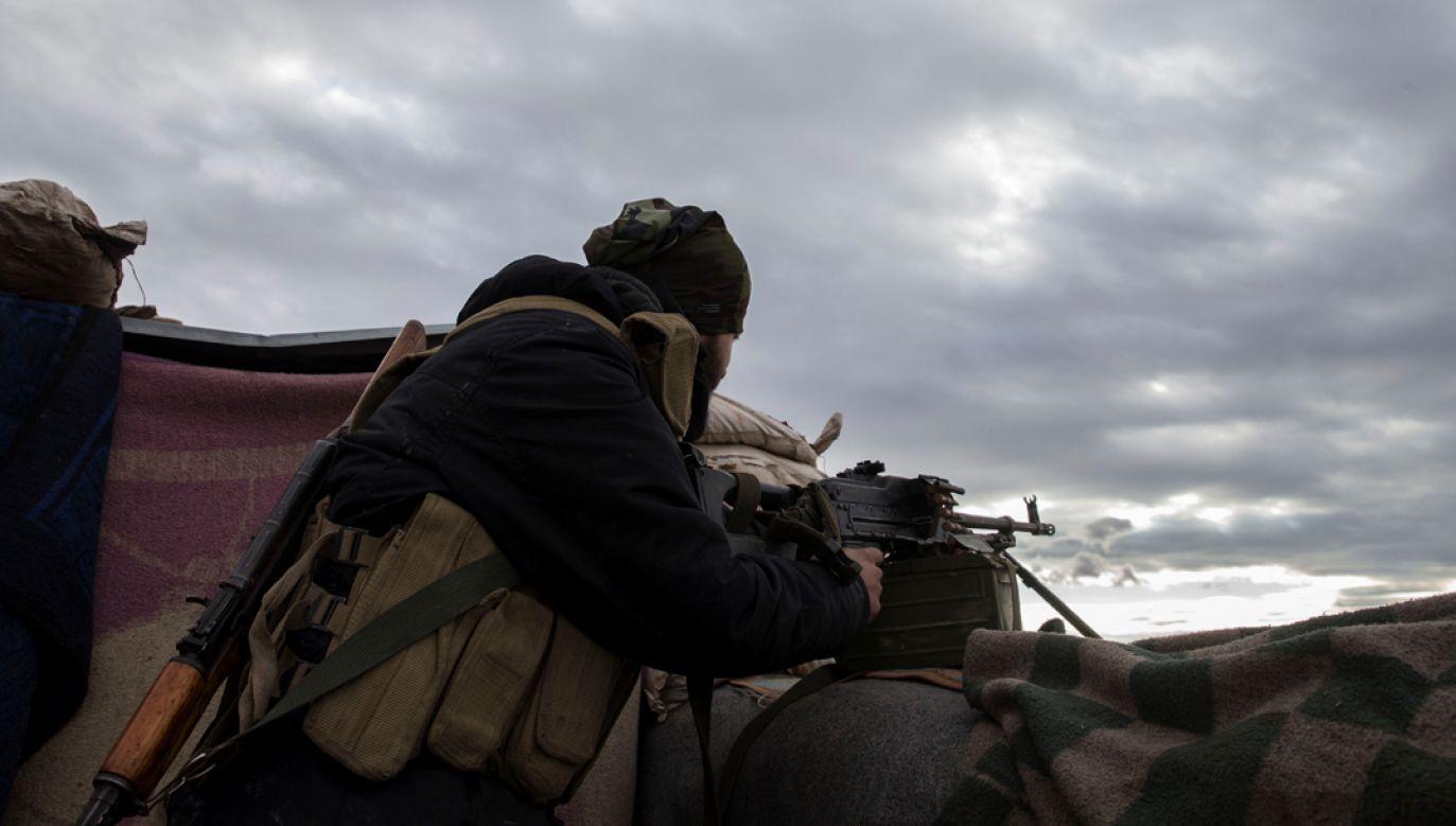 Wcześniej do kurdyjskiej enklawy weszły wspierane przez Turcję siły opozycji syryjskiej – Wolna Armia Syryjska (fot. Emin Sansar/Anadolu Agency/Getty Images)