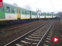 Pociąg osobowy wypadł z torów w Wołominie. Trasa zablokowana