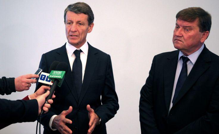 Andrzej Czerwiński i Andrzej Chłopek  fot. PAP/Paweł Supernak