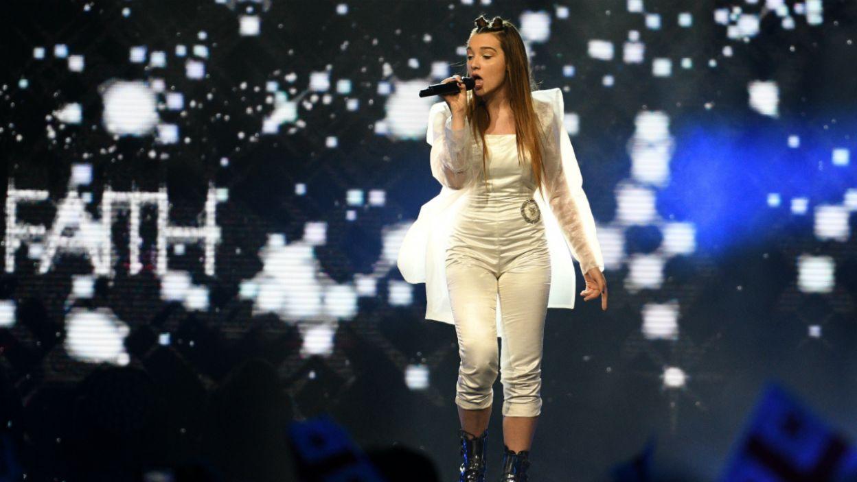 14-letnia Mina z Macedonii śpiewała po macedońsku i angielsku (fot. Getty Images)
