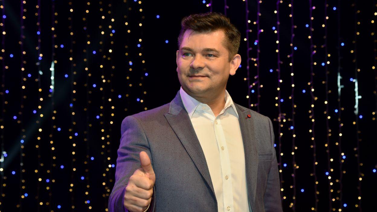 Jego nie mogło zabraknąć! Zenon Martyniuk na konferencji prasowej  (fot. Ireneusz Sobieszczuk)