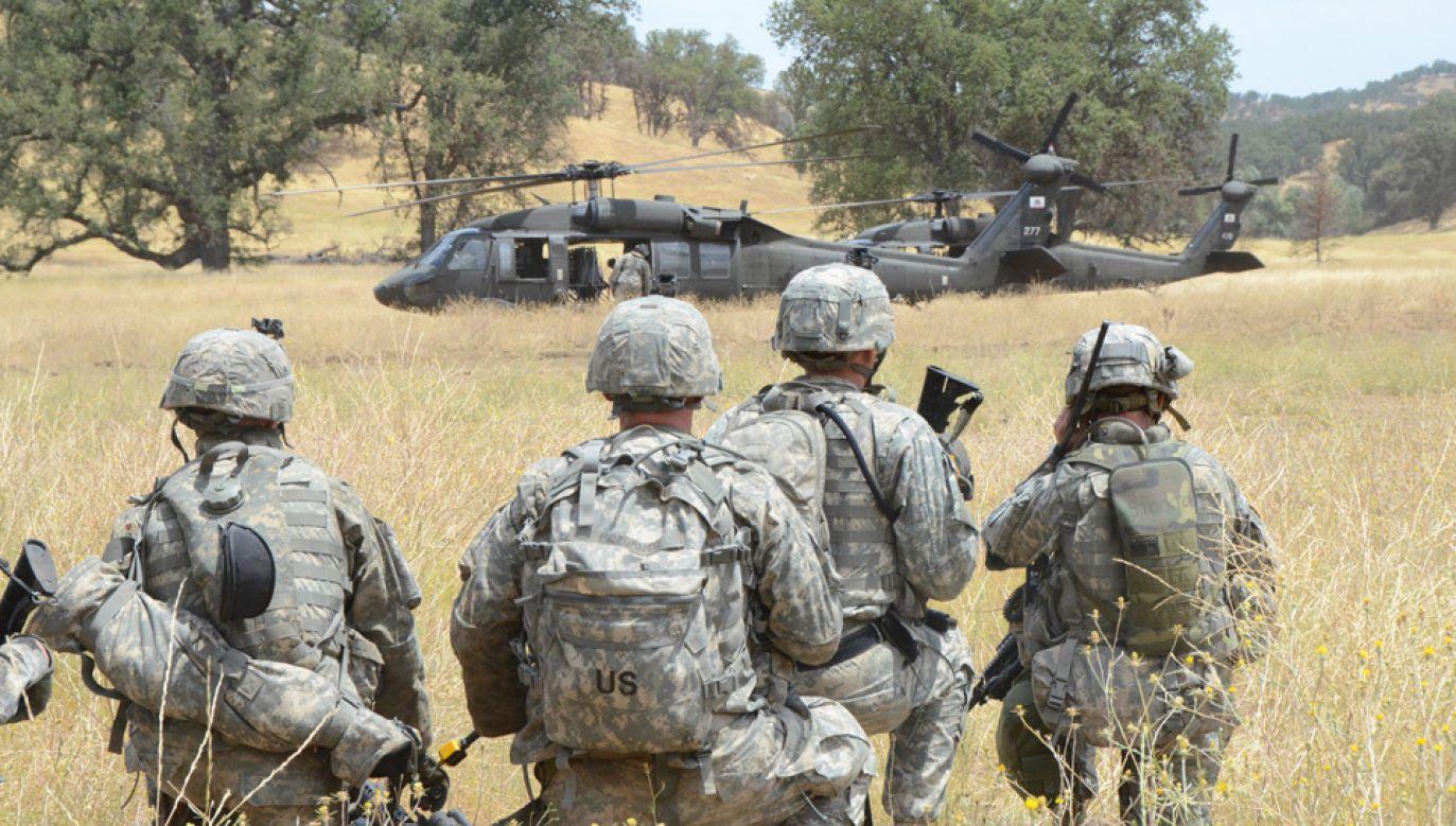 W czasie pokoju o użyciu Gwardii Narodowej decydują gubernatorzy, nie prezydent USA (fot. Flickr/California National Guard)