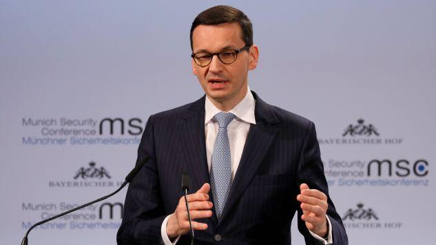 Premier Mateusz Morawiecki (fot. RONALD WITTEK/PAP/EPA)