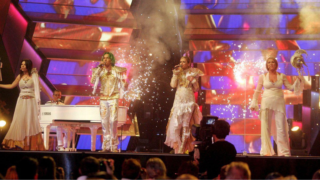 """W 2003 roku zespół Ich Troje z hitem """"Keine Grenzen"""" zajął siódme miejsce (fot. PAP/EPA)"""