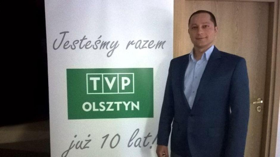 Artur Bal, dyrektor Powiatowej Służby Drogowej w Olsztynie