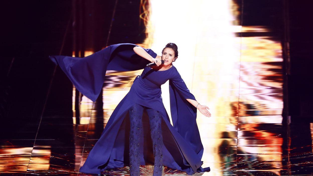Jamala ze swoją znakomitą piosenką od początku była jedną z faworytek konkursu (fot. Andres Putting)