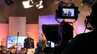 """11. Muzycy z zespołu """"United States Air Forces in Europe"""" w TVP3 Rzeszów"""