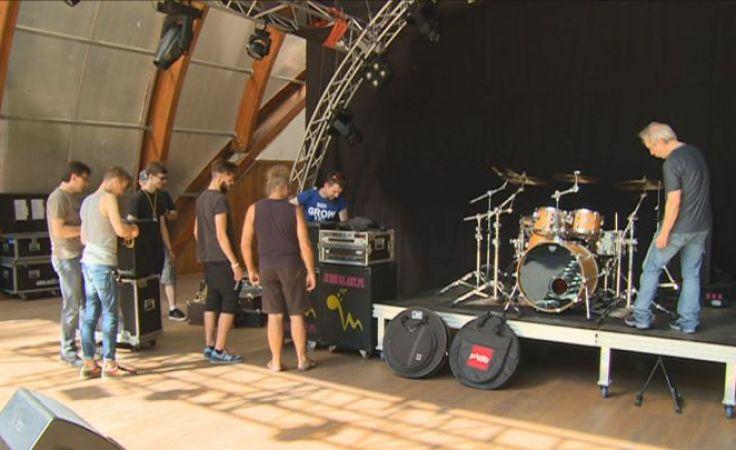 Przygotowania do festiwalu