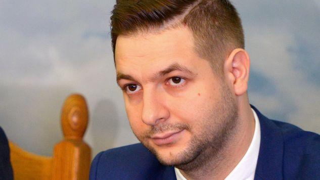 Wiceminister Jaki odniósł się m.in. do protestów przeciwników reformy sądownictwa (fot. PAP/Darek Delmanowicz)