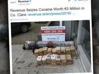 """Kokaina w """"torpedzie"""". Nietypowe znalezisko na irlandzkiej plaży"""