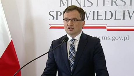 Minister Zbigniew Ziobro
