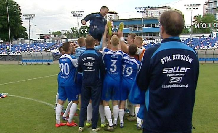 Piłkarze Stali Rzeszów zakończyli sezon zwycięstwem