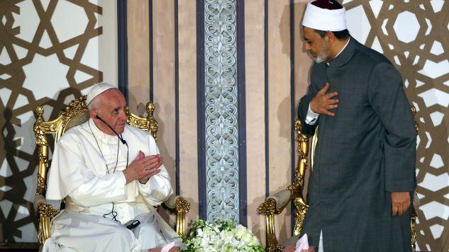 Ostatnia wizyta papieża w Egipcie odbyła się 17 lat temu (fot. PAP/EPA/KHALED ELFIQI)