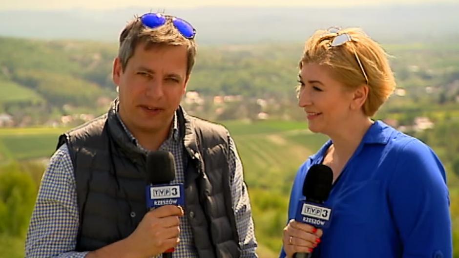 Prowadzący program Wiosna w regionach - Ilona Małek i Marcin Pawlak