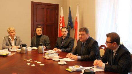 Prezydent Elbląga spotkał się dziś z Elbląską Radą Klastrów.
