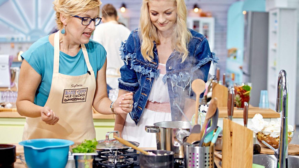– Gruzja nie jest mi obca – mówi Sylwia i zabiera się do gotowania (fot. TVP)