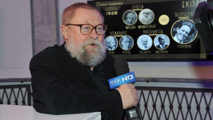Jan Bralczyk (fot. arch. TVP)