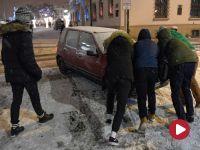 Intensywne opady śniegu. RCB: Zachowajcie ostrożność!
